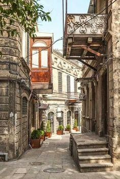 ♔ ☪ Azerbaijan: Baku . Icheri Sheher