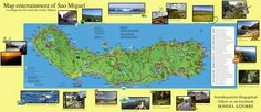Bom Dia Azzorre: Map of entertainment of Sao Miguel