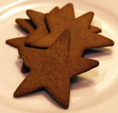 Swedish Ginger Snaps for Christmas