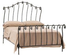 Stone County Ironworks 904-115 Stratford Sleigh California King Bed