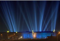 This photo was taken the night the Pentagon Memorial was dedicated and the Memorial Park lit for the first time in (Photo: National We Will Never Forget, Lest We Forget, United Airlines Flight 175, Day Of Infamy, America Washington, Home Of The Brave, Memorial Park, September 11, Parks