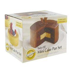 Wilton Tasty-Fill Mini Cake Pan Set | Shop Hobby Lobby