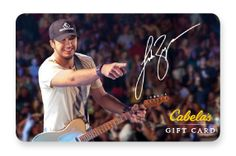 Cabela's Gift Card - Luke Bryan for 32 Bridge Apparel