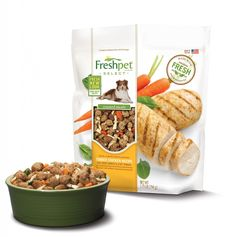 Great for older dogs that are picky eater supplement their dry food. #FreshpetReviews  #DogFood