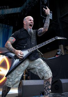 Scott Ian- San Bernardino?? You know he's married to Meat Loaf's daughter, right?