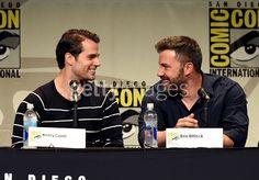 Actors Henry Cavill and Ben...