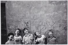 Making a Funny Face  Jill Freedman,Goofy Kids, Dublin,1984