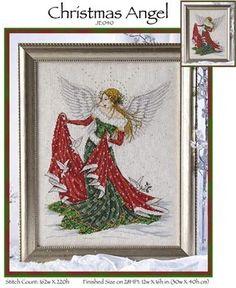 Christmas Angel - Cross Stitch Pattern