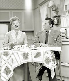 I Love Lucy...I love this show so much because it's genuine humor. Nothing crude or violent, just pure acting that makes people laugh<3