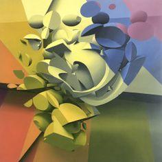 Circus, cm, oil on canvas, 2018 Mediums Of Art, Oil On Canvas, Graffiti, Artwork, Venice Italy, Instagram, Colorful, 3d, Google