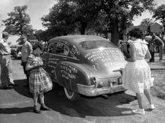 Mansfield high school desegregation. In August 1956, 12 African american students were approved to enroll atMansfield High School.only to be met with racist taunts and burning effigies.