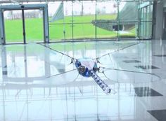 Futuristic BionicOpter Dragonfly Robot