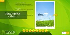 nice Classy FlipBook Responsive jQuery Plugin