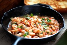 Jalapeno Lime Skillet Shrimp by alaskafromscratch: Fast and delicious with a spicy kick. Serve it with toasty bread, rice or angel hair pasta.