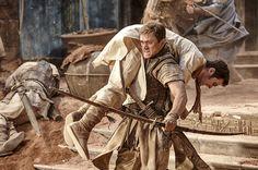 Taron Egerton and Scot Greenan in Robin Hood Top Rated Movies, Top Movies, Movies To Watch, 2018 Movies, Movies Online, Hindi Movies, Disney Pixar, Comedy, Art