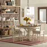 Get inspired by Farmhouse Dining Room Design photo by Wayfair. Wayfair lets you find the designer products in the photo and get ideas from thousands of other Farmhouse Dining Room Design photos. Country Dining Rooms, Home, Extendable Dining Table, Casual Dining Room Furniture, Dining Room Design, Farmhouse Dining Room, Dining Furniture, Furniture, Dining Table