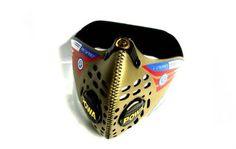 Respro® Cinqro™ mask - gold www.respro.com