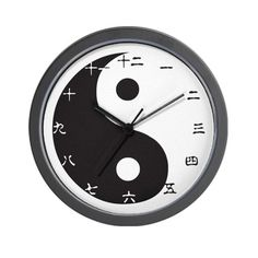 CafePress  YinYang Chinese Wall Clock  Unique Decorative 10 Wall Clock >>> Want additional info? Click on the image.
