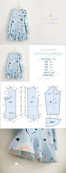 Amazing Sewing Patterns Clone Your Clothes Ideas. Enchanting Sewing Patterns Clone Your Clothes Ideas. Sewing Dress, Diy Dress, Sewing Clothes, Sewing Coat, Teens Clothes, Diy Clothing, Clothing Patterns, Dress Patterns, Pattern Dress