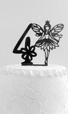 4th Birthday Cake Topper от CakeTopperDesign на Etsy