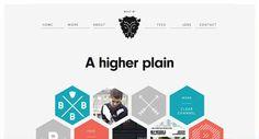 フラットデザインの参考、具体的サンプルWebサイト20個まとめ - Photoshop VIP