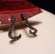 Octopus Tentacle Earrings!