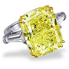 Large Canary diamond