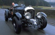 Bentley Blower. (Had I my druthers, I'd be the guy behind the wheel.)