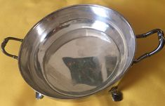 Excited to share the latest addition to my #etsy shop: Silver plated Vintage Mappin & Webb Triple Deposit Princes plated London and Sheffield // four footed dish / early 20C Art deco design #vintage #collectables #silver #londonandsheffield #silverplateddish #antiquesilverdish #silverdish #footeddish #mappinandwebb