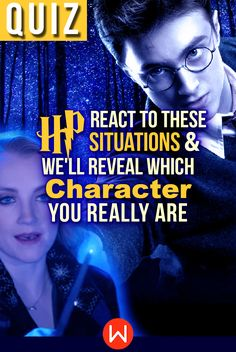 Harry Potter Quiz: How would you live in the world of Harry Potter? Escape into the Wizarding World and react to these Harry Potter situations to see which character you truly are! #harrypotter #hermionegranger #hogwarts