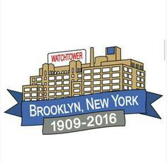 Bye bye, Brooklyn! You've served well!