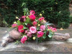 Afscheidsbloemen BLoemwerk Op Maat, #rouwbloemen
