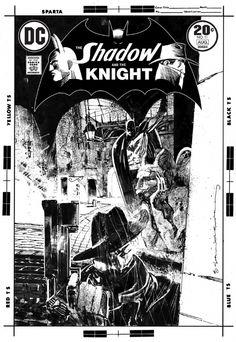 Shadow and the Knight #11 (Sienkiewicz) Comic Art