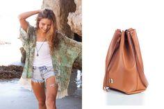 Δώστε bohemian chic στυλ στο καλοκαίρι σας με τσάντες πουγκιά