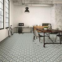 Centro Florentine Blue Glazed Ceramic Decor Tile 200x200mm