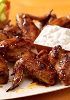 Spicy Vampire Bat Wings -- You won't need vampire bats to make these spicy appetizers. But Halloween party-goers may never look at chicken wings the same way again!