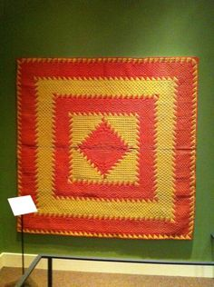antique amish quilt