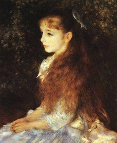 Mademoiselle Irene - Pierre Auguste Renoir