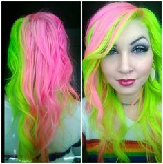 neonhair<3 if only i was still into destroying my hair