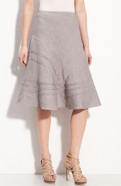 Nic + Zoe 'Criss Cross' Linen Blend Skirt | Nordstrom - StyleSays