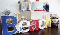 Bebê com Estilo: Festa praia vintage