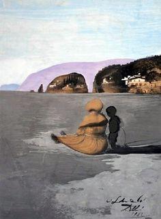 Adolescencia (1941). Salvador Dalí.