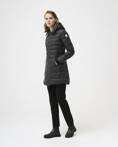 White Ducks, Lausanne, Duck Down, Lightweight Jacket, Winter Jackets, Slim, Insulation, Farms, Model