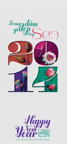 LOTUS calendar project by Denny Nguyen, via Behance