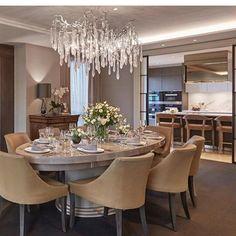 Creme de la creme dining room comedor pinterest for Piani di casa con soggiorno formale e sale da pranzo