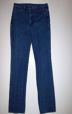 Wrangler Original Fit Men's Prewashed Indigo Denim Jeans, Size 33x40 100% Cotton #Wrangler #CowboyCut