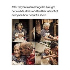 Oh my God! #Magic #Soulmates #81yrs! #Amazing #Touched2themax Repost @transformationfeed why am i crying
