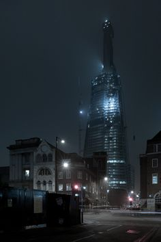 The Shard, London by architect Renzo Piano