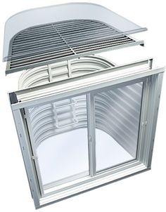 Basement Windows/grille idea