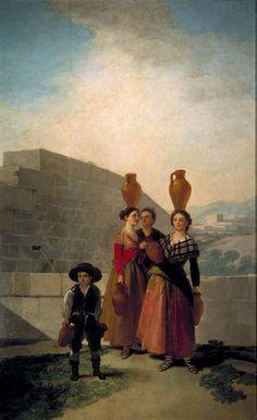 Goya en El Prado: Las mozas del cántaro
